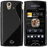 mumbi TPU Silikon Schutzhülle für Sony Ericsson Xperia ray