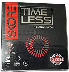 Skore Timeless Climax Delay Condoms - 3 Pieces (Pack of 2)