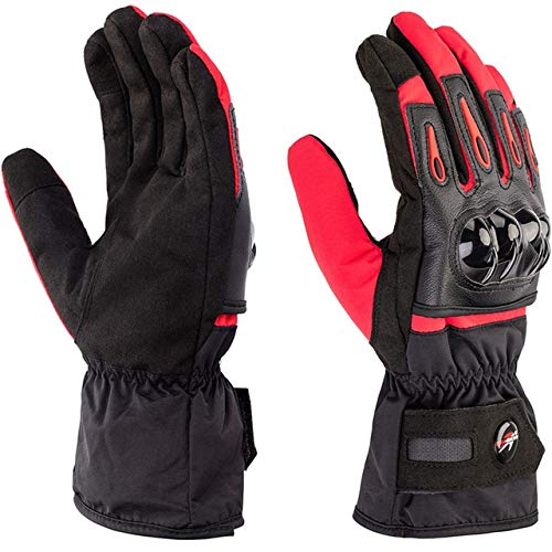 Bruce Dillon Motorcycle winter gloves touch screen waterproof gloves motorcycle men and women riding protective gloves - A4 X M -