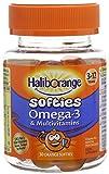 Haliborange Kids Omega-3 Multivitamin Softies, Orange, Total 90 Softies (Pack of 3)