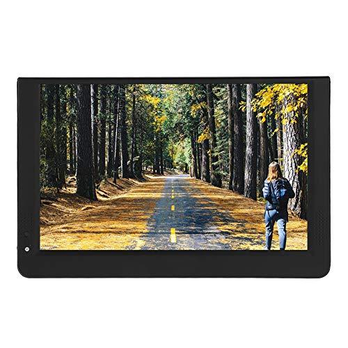 VBESTLIFE Tragbares digitales Auto-TV,1080P 16: 9 LED-Handheld-Digital-DVB-T / T2-Fernsehgerät mit hoher Empfindlichkeit Tuner PVR-Funktion mit Stand für Auto/Outdoor/Schlafzimmer(12 Zoll) -