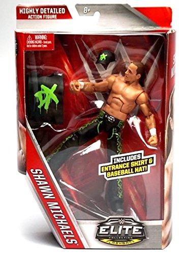 WWE Elite-Flashback Shawn Michaels, DX-Action-Figur (Shawn Michael Wwe Spielzeug)