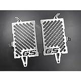 BMW R 1200 GS LC BJ 2013-16 Kühlerabdeckung Wasserkühler Kühlergrill Kühlerschutz Kühlergitter Kühlerschutzgitter Kühlerverkleidung Silber Schrift
