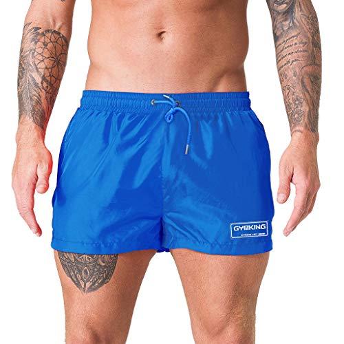 Sylar bañador Deportivo Hombre natación Pantalones de Playa Verano Hombre Pantalones Cortos bañador...