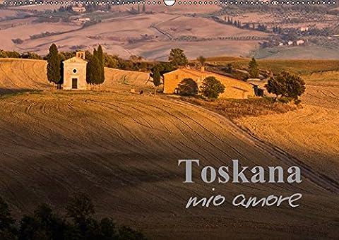 Toskana - mio amore (Wandkalender 2018 DIN A2 quer): Toskana