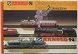 Arnold N Gleisanlagenbuch Band 2 0023 Gleispläne Gleisplan 1980