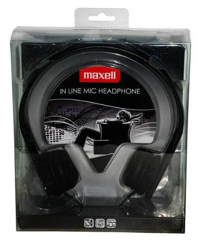 MAXELL HP-Mic Headset schwarz -