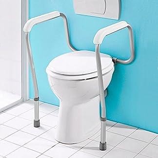 Haltegriffe für die Toilette