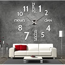 suchergebnis auf amazon.de für: wanduhren modern wohnzimmer - Wohnzimmer Uhren Modern