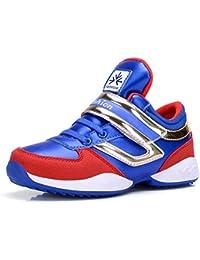 Scarpe Sportive da Basket per Bambini di Alta Gamma con Velcro Scarpe da  Ginnastica per Bambini 1c2b0c8559f