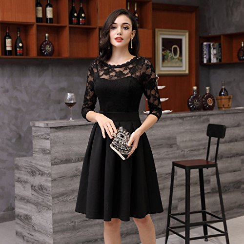 MIUSOL-Womens-Vintage-Floral-Lace-23-Sleeve-Cocktail-Party-Dresses-for-Women