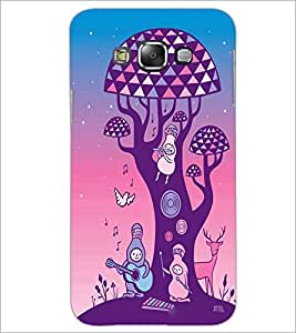 PrintDhaba Cartoon D-2965 Back Case Cover for SAMSUNG GALAXY A8 (Multi-Coloured)