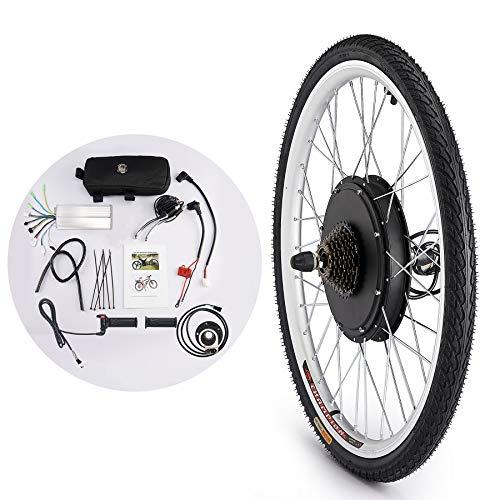 Sfeomi Kit de Conversión de Bicicleta Eléctrica 36V 500W Kit de Conversión de Bicicleta Electric...