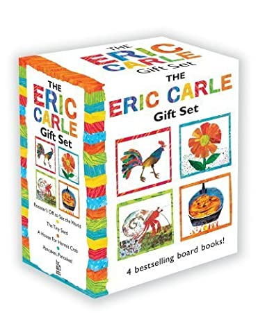 The Eric Carle Gift Set: The Tiny Seed; Pancakes, Pancakes!; A House for Hermit Crab; Rooster's Off to See the World (The World of Eric Carle) by Eric Carle