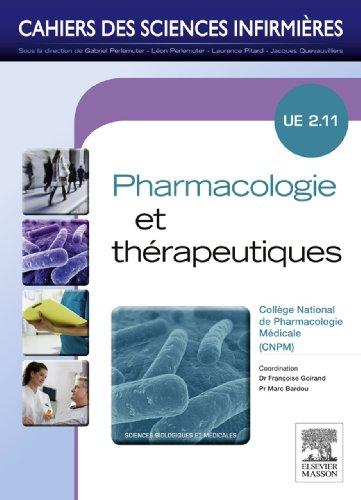 Pharmacologie et thérapeutiques: Unité d'enseignement 2.11