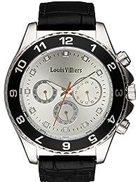 Reloj hombre Louis Villiers de acero Silver 45 mm lvag5877 – 5