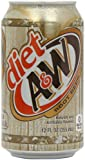 A and W Diet Root Beer 355 ml (Pack of 6)