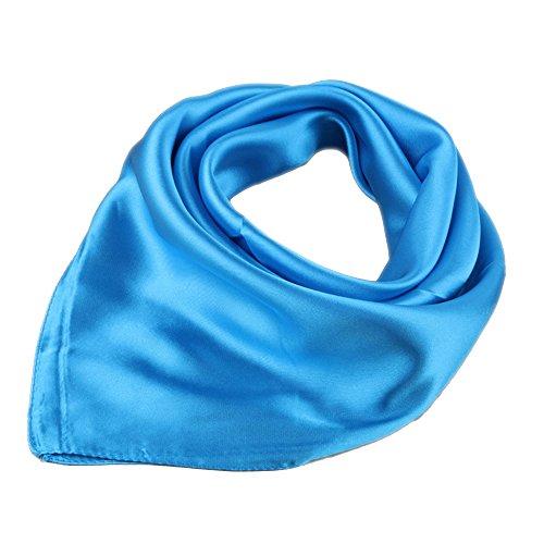 Charm Bracelet Soar Velour Towel Plain Bandana Neck Scarf Headscarf (See Blau ) (Armband Velour)