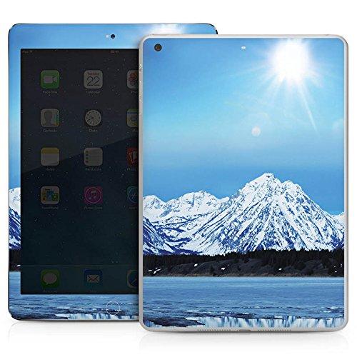 DeinDesign Apple IPad Air Case Skin Sticker aus Vinyl-Folie Aufkleber Gebirge Schnee Gipfel -