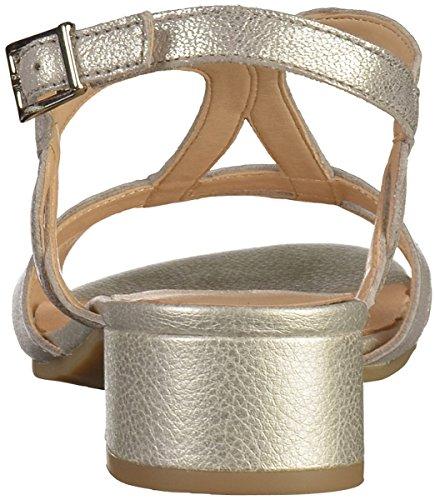 Argento Sandali 28201 metallo Argento Donna Blu 920 Slingback Capriccio 5gg1qX