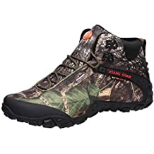 Zapatos de Deporte y Aire Libre, Botas Resistente al Agua de Invierno para Senderismo y
