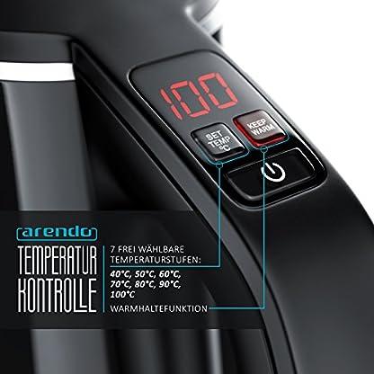 Arendo-Edelstahl-Wasserkocher-mit-Temperatureinstellung-7-whlbare-Temperaturstufen-von-40C-100C-und-Warmhaltefunktion-Cool-Touch-Doppelwand-Design-Zertifiziert-BPA-frei