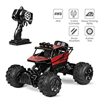 INTEY Remote Control Car, RC Car 1:12 Scale 2.4GHz RC Buggy Car Remote Controlled 4WD 50M Remote Control for adults and kids, girl and boy