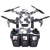 Mypace2 Mypace2 Kompatibel mit DJI Mavic Mini Drone Sticker Bunt 3D Sticker Aufkleber Wasserdicht Haut Aufkleber Mode Körperschutz für Drohne Wrap Aufkleber Quadcopter Drone Case, Fernbedienung und Batterien