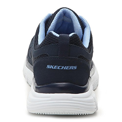 Skechers Burns-Agoura Hommes Cuir Chaussure de Marche Navy