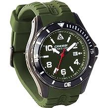 Cressi Manta Lux - Reloj para buceo verde verde