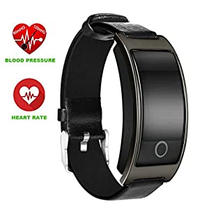 Sports Smart Watch, Zimingu® Smart Bracelet with heart rate monitor / sleep analysis / alarm / SMS calls Bluetooth 4.0 Fitness Tracker Activity track