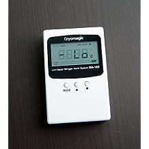 Cryomagic monitoreo de bajo nivel de nitrógeno líquido para el tanque de alarma ln2 - digital