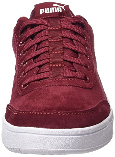 Puma Court Breaker SD, Sneakers Basses Mixte Adulte Rouge (Tibetan Red-tibetan Red)