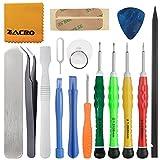 Zacro 16 en 1 Kit de Tournevis Outils Ouverture Démontage Réparation pour iPhone 4 / 4S / 5 / 5C / 5S / 6/6 Plus /7 / 7 Plus(GSM / CDMA) / 6S / iPad 4/3/2 / Mini, iPod, Macbook et plus