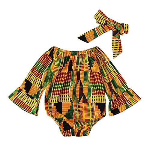 Kostüm Machen Hobo - Splrit-MAN Baby Outfit Langarm Strampler Junge Mädchen Jumpsuit Haarband Stirnband Babystrampler Playsuit Schlafstrampler Babykleidung Neugeborenen Set Babybody