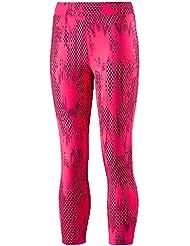 K - 7/8–pinkblack allhaia pantalon rose 12 ans