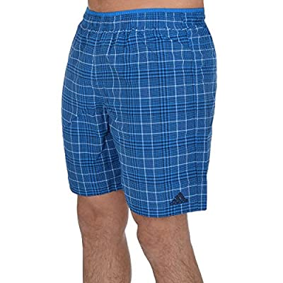 adidas Performance Mens Check Swimming Shorts - Blue
