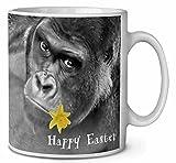 'Happy Easter' Gorilla tazza da tè/caffè idea regalo