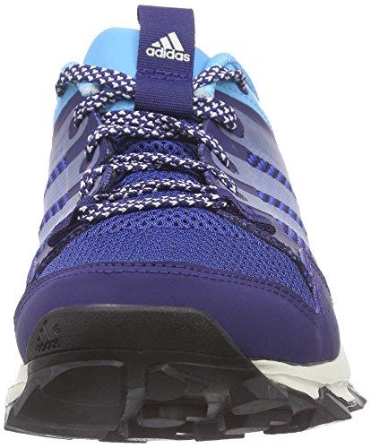 adidas Kanadia 7 Trail, Chaussures de trail femme Bleu (Midnight Indigo/Chalk White/Bright Cyan)