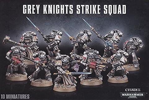 Warhammer Chevaliers Gris - Warhammer 40000 - Chevaliers Gris grève Squad