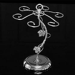 Atoz prime Fashion Decorative Metal Modern Hanging Wine Glass Racks Wine Cabinet Wedding Decor Gift Wine Glass Holder KC1284