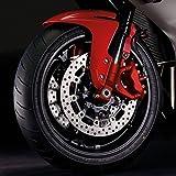 Hochtemperaturlack, Lackspray für Bremse, Auspuff, Bremssattel, bis 260°C, 400ml rot