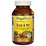 MegaFood, DailyFoods, Baby & Me, 120 Tabletten