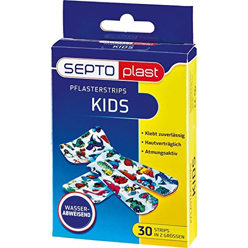 Septoplast Pflaster Kids Strips, 30 Strips in 2 Größen