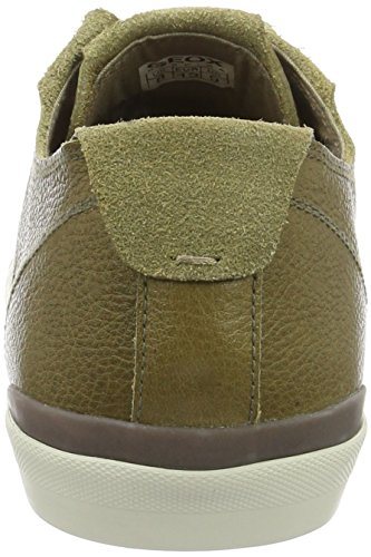 Geox U SMART E Herren Sneakers Grün (Muskc3704)