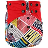 BEESCLOVER Washable Reusable Printed Dipper Pants Breathable Leakproof Nappy Size Can Be Adjusted N26