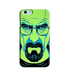 Blue Throat Green Man Printed Designer Back Cover/Case For Apple iPhone 6s Plus