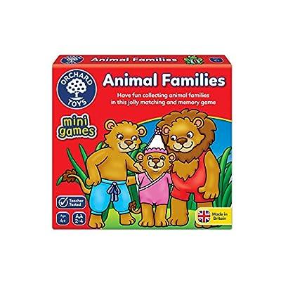 Orchard Toys animaux familles Mini/jeu de voyage