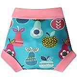 Kuou Reusable Baby Swim Pantaloni Pannolino da Nuoto, Regolabile, per 12–18Mesi, Impermeabile Bambino Pannolino Costume da Bagno