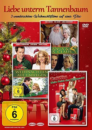Liebe unterm Tannenbaum (Drei wundervolle Weihnachtsfilme auf einer DVD)
